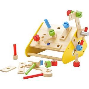 大工 工具 おもちゃ 知育玩具 カーペンターボックス nicoly