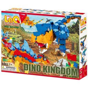 ブロック おもちゃ ラキュー LaQ ダイナソーワールド ディノキングダム