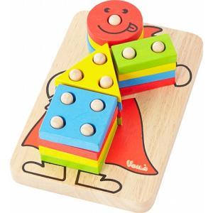 知育玩具 木のおもちゃ カラフルクラウン クリスマス プレゼント nicoly