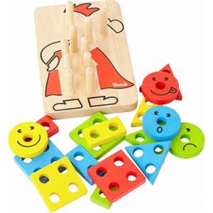 知育玩具 木のおもちゃ カラフルクラウン クリスマス プレゼント nicoly 02