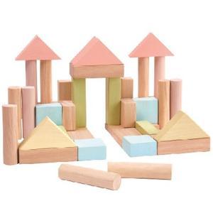 プラントイ ユニットブロック40 積み木 ブロック プレゼント 男の子 女の子 出産祝い|nicoly