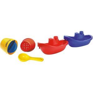 お風呂やプールで大活躍! ドイツ・フックス社のお風呂の玩具セットです。 柔らかいプラスチック素材なの...