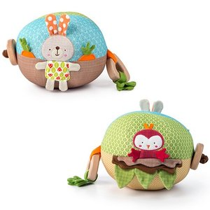Kids2 ギグル・ガーデン・ボール ぬいぐるみ 布のおもちゃ|nicoly