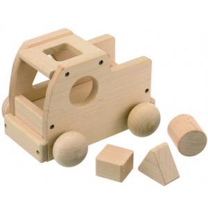 森のメロディートラック 積み木 ブロック|nicoly
