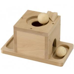 森のころころボール 知育玩具 木のおもちゃ 木製|nicoly