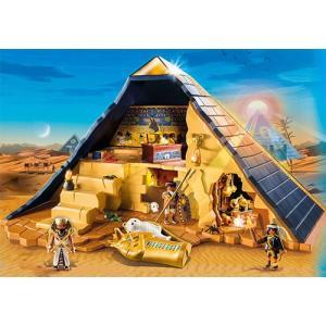 プレイモービル ファラオのピラミッド ごっこ遊び 女の子 男の子 ミニチュア 子供 キッズ 幼児|nicoly