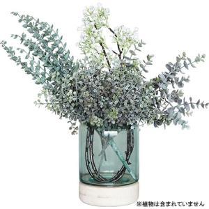 花瓶 フラワーベース ガラス トロイベース nicoly