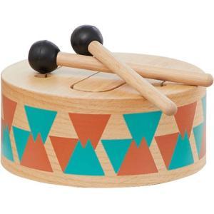 楽器玩具 木のおもちゃ 知育 クラシックドラム nicoly