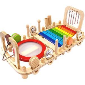 楽器玩具 木のおもちゃ 知育 メロディーベンチ&ウォールトイ nicoly