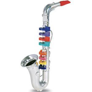 知育玩具 楽器玩具 音楽 シルバーサックスフォン 8keys 42cm