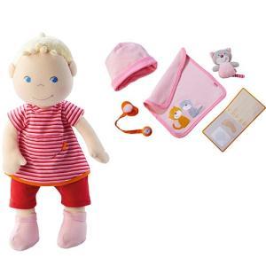 HABA ハバ ソフト人形・ベビージュリーちゃん 人形 ドール 着せ替え 子供|nicoly