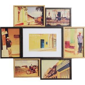 フォトフレーム スタンド 壁掛け 写真立て ハロウ セブン ソーシャル|nicoly