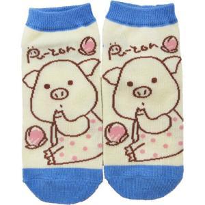 ぷーとんの靴下がデザインを新たに再登場です  ドット、ストライプ、ブルーの3種類をご用意しています。...