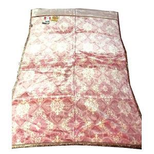 送料無料 温泉毛布 シルキームートン調2枚合せ毛布(ピンク) 暖かい 日本製 シングル|niconicogenkimura|03