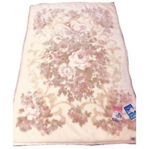 温泉毛布 ミンクファータッチマイヤー毛布(ピンク) 暖かい 日本製 シングル 1枚物 |niconicogenkimura|02