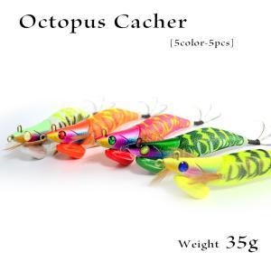 タコエギ 5個セット オクトパスキャッチ エギ 蛸餌木の画像