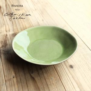 Riviera/リヴィエラ スーププレート25cm ヴェール・フレ ストーンウェア ポルトガル コスタ・ノバ costa-nova 洋食器  中皿 深皿 パスタプレート おしゃれ|niconomanimani