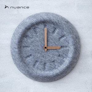 nuance ニュアンス ウォールクロック φ29cm|niconomanimani