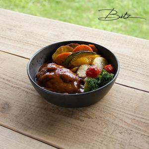 Bitz/ビッツ サラダボウル 直径18cm 高さ5cm ストーンウェア 北欧 デンマーク  ボウル 皿 おしゃれ 食器|niconomanimani