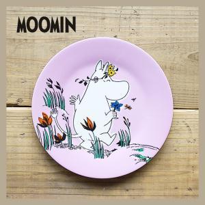 Moomin/ムーミン メラミンデザートプレート ムーミンピンク|niconomanimani