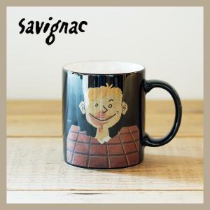Raymond Savignac/レイモン・サヴィニャック マグ トブラーチョコレート 320ml 食器 カップ アート イラスト カフェ おしゃれ かわいい フランス ヨーロッパ|niconomanimani