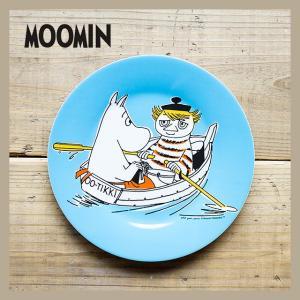 Moomin/ムーミン メラミンデザートプレート ムーミンママとトゥーティッキ