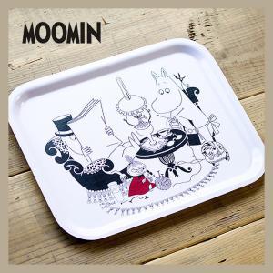 Moomin/ムーミン トレイ パパリーディング M|niconomanimani