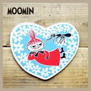 Moomin/ムーミン ポットコースター ハートすごろく原画リトルミイ|niconomanimani