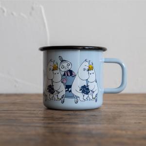 Moomin/ムーミン ムーミンマグ フレンズ ムーミン&フローレン|niconomanimani