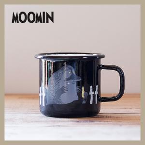 Moomin/ムーミン ムーミンマグ モラン ブラック|niconomanimani
