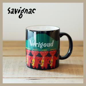 Raymond Savignac/レイモン・サヴィニャック マグ(ヴェリグード) 320ml 食器 カップ アート イラスト カフェ おしゃれ かわいい フランス ヨーロッパ|niconomanimani