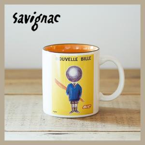 Raymond Savignac/レイモン・サヴィニャック マグ(ビック新しいボール) 320ml 食器 カップ アート イラスト カフェ おしゃれ かわいい フランス ヨーロッパ|niconomanimani