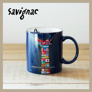 Raymond Savignac/レイモン・サヴィニャック マグ(エールフランス航空) 320ml 食器 カップ アート イラスト カフェ おしゃれ かわいい フランス ヨーロッパ|niconomanimani