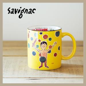 Raymond Savignac/レイモン・サヴィニャック マグ(わんぱく戦争) 320ml 食器 カップ アート イラスト カフェ おしゃれ かわいい フランス ヨーロッパ|niconomanimani