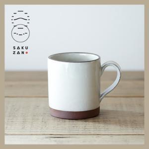 SAKUZAN/作山窯 ELLE マグカップ L(ホワイト)|niconomanimani