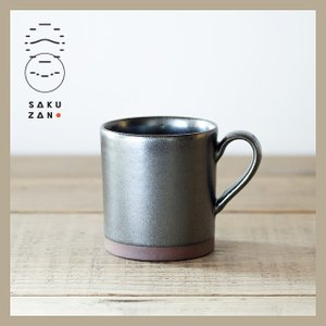 SAKUZAN/作山窯 ELLE マグカップ L(ブラウン)|niconomanimani
