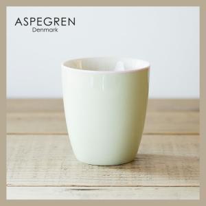 ASPEGREN アスぺグレン 北欧デザイン マグカップ(グリーン)|niconomanimani