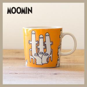 Moomin/ムーミン  ムーミン マグ 300ml ニョロニョロ  ARABIA/アラビア 旧ロゴ niconomanimani