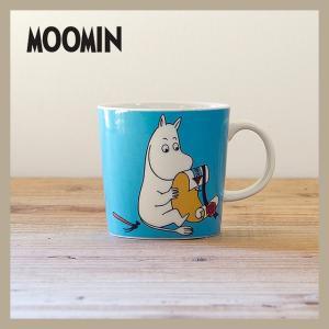 Moomin/ムーミン  ムーミン マグ 300ml ムーミン  ARABIA/アラビア 旧ロゴ niconomanimani