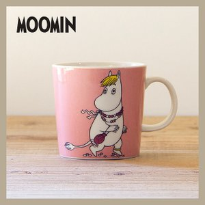 Moomin/ムーミン  ムーミン マグ 300ml フローレン  ARABIA/アラビア 旧ロゴ niconomanimani