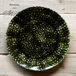Riviera/リヴィエラ チャージャープレート31cm ストーンウェア ポルトガル コスタ・ノバ costa-nova食器 洋食器 大皿 盛り皿 パーティカフェ おしゃれ|niconomanimani