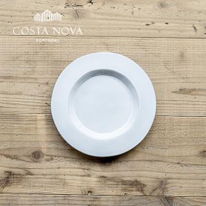 PLANO/プラーノ サラダプレート 23cm ストーンウェア COSTA NOVA コスタ・ノバ 北欧 食器 洋食器 中皿 小皿 取り皿 銘々皿 カフェ おしゃれ|niconomanimani