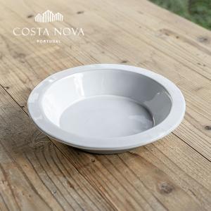PLANO/プラーノ パスタボウル 25cm ストーンウェア COSTA NOVA コスタ・ノバ 北欧 食器 洋食器 中皿 深皿 カレー皿 パスタプレート カフェ おしゃれ|niconomanimani