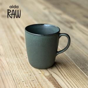 RAW/ロウ マグカップ ノーザングリーン ストーンウェア 北欧 食器 洋食器 和食器コップ カップ 湯のみ カフェ おしゃれ|niconomanimani
