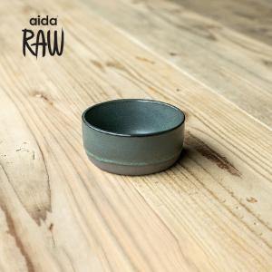 RAW/ロウ スモールボウル 10cm ノーザングリーン ストーンウェア 北欧 食器 洋食器 和食器 小鉢 取り皿 カフェ おしゃれ|niconomanimani