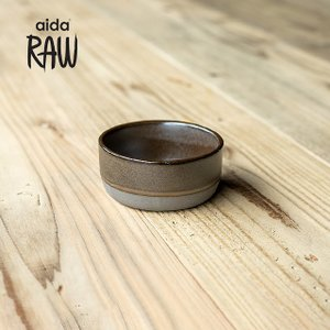 RAW/ロウ スモールボウル 10cm メタリックブラウン ストーンウェア 北欧 食器 洋食器 和食器 小鉢 取り皿 カフェ おしゃれ|niconomanimani