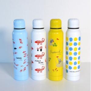 レオ・レオニ Leo Lionni ステンレスボトル 300ml おしゃれ 水筒 軽量 コンパクト ステンレス スリム 保冷 保温  直飲み|niconomanimani