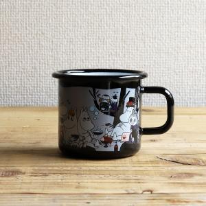 Moomin/ムーミン ムーミンマグ ピクニック ブラック|niconomanimani