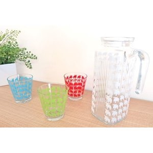 moz モズ ガラスタンブラー 約250ml ソーダガラス エルク かわいい グラス 爽やか|niconomanimani