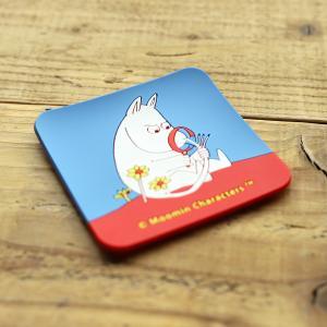 Moomin/ムーミン ビビットカラーのシリコンコースター ムーミン|niconomanimani
